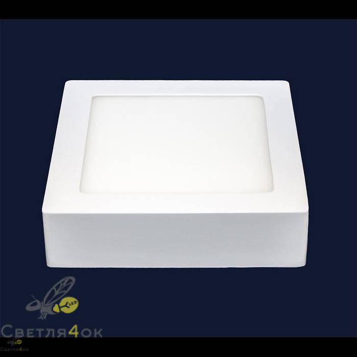 Точечный светильник 745SM-6W (квадрат) нейтральный