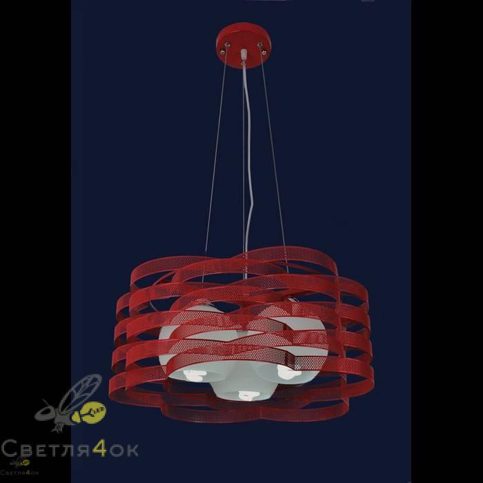 Светильник 7076207-3 красный