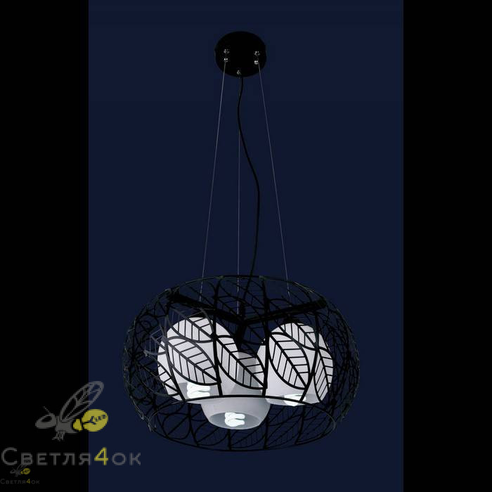 Светильник 7076402-3 черный
