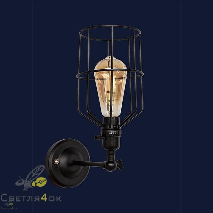 Светильник Лофт 756WPR1985-1 BK