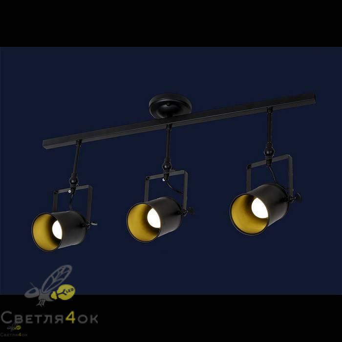 Прожектор Лофт 761SD02-3 BK