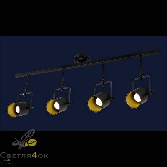Прожектор Лофт 761SD02-4 BK