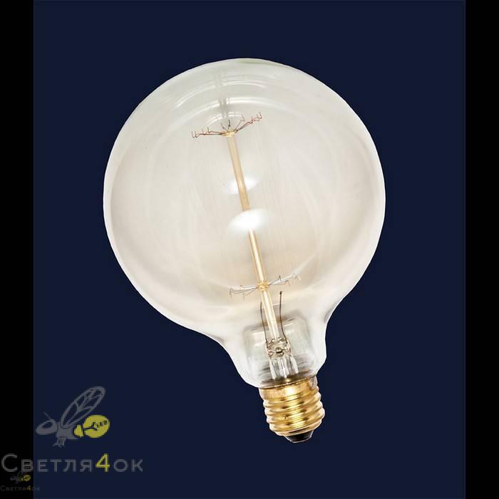 Лампа Эдисона E27 G125-40W