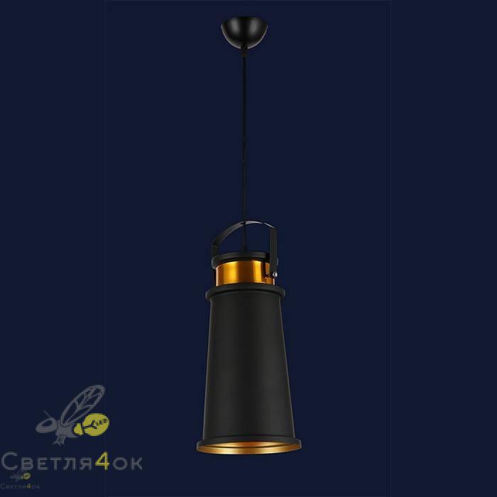 Светильник 7546600B-1 BK+GD