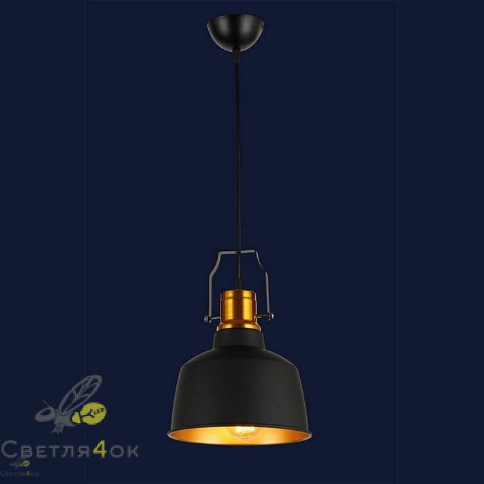 Светильник 7546601-1 BK+GD