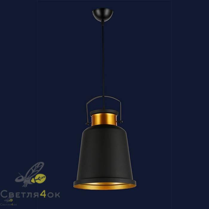 Светильник 7546602-1 BK+GD