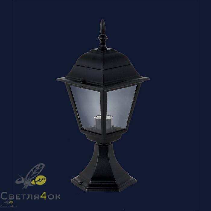 Уличный светильник 767V3300-S-ST BK
