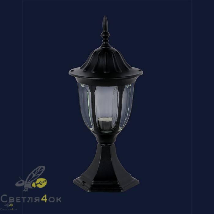 Уличный светильник 767V3507-S-ST BK