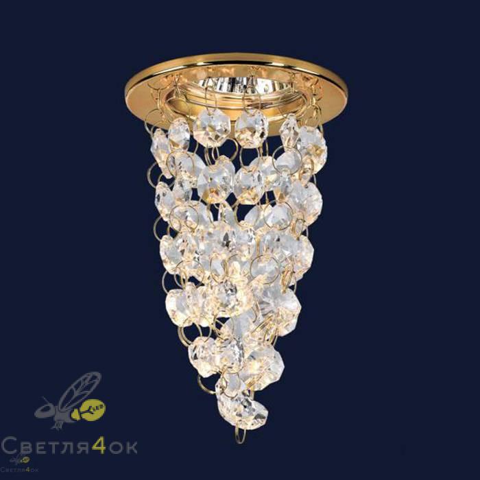 Хрустальный светильник 712A2142 GD/CL
