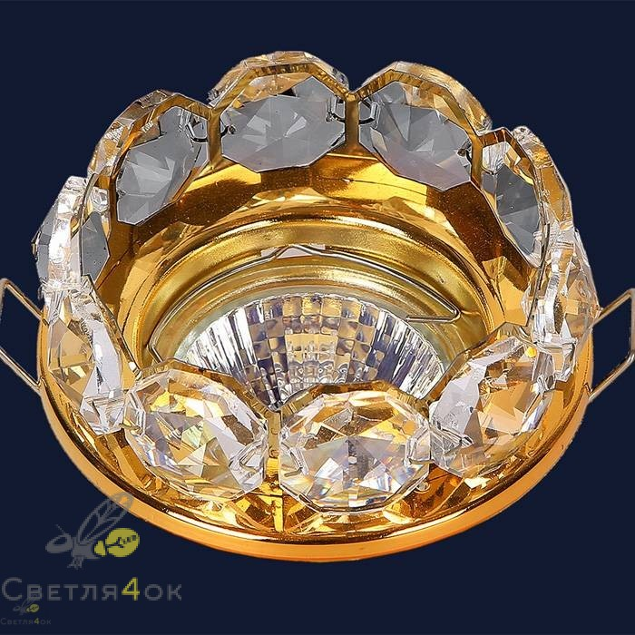 Хрустальный светильник 712A2298 GD/CL
