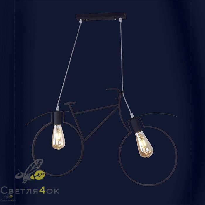 Светильник велосипед 756PR7021-2-Graffit