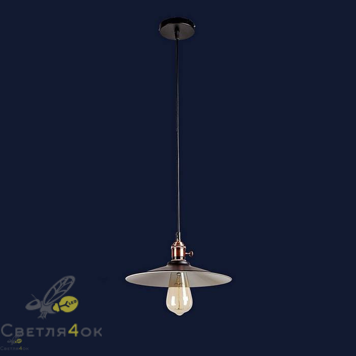 Светильник Лофт 752836F-1 BK+WH