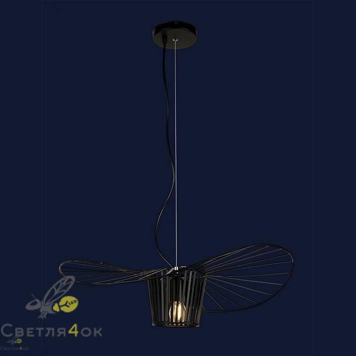 Светильник Лофт 756PRD600-1 BK