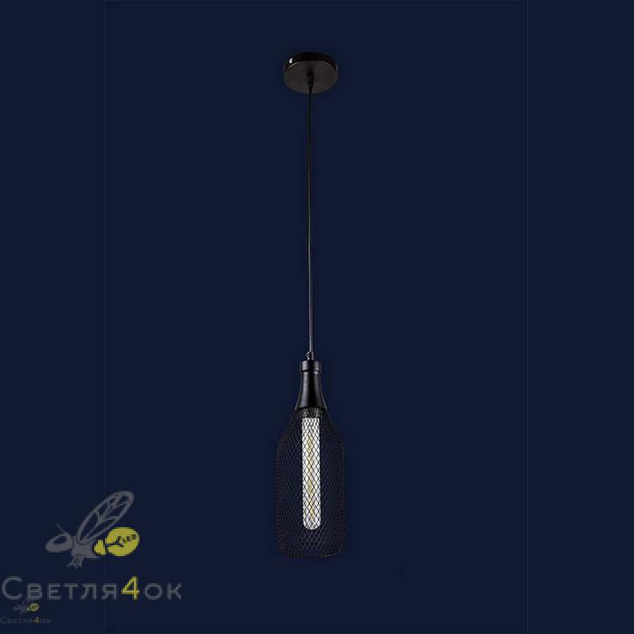Светильник Лофт 907003F-1 BK