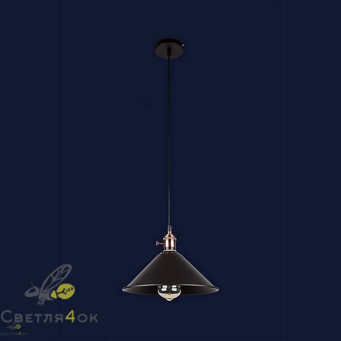Светильник Лофт 752839F-1 BK