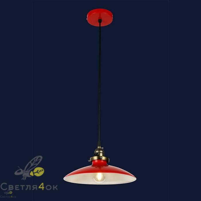 Светильник Лофт 756PRD0031-1 RED