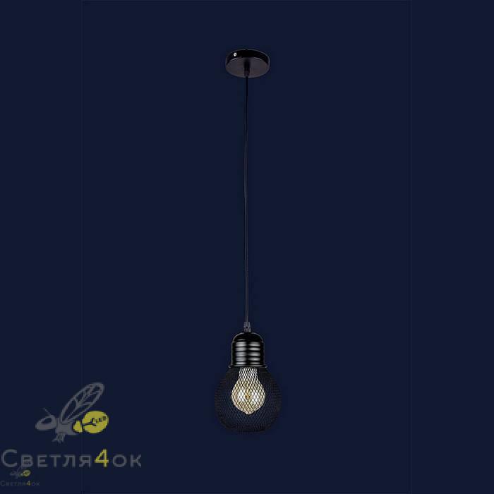 Светильник Лофт 907004F-1 BK