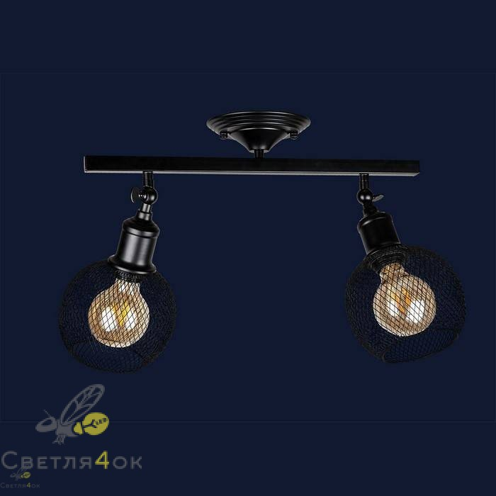 Светильник 907X011F-2 BK
