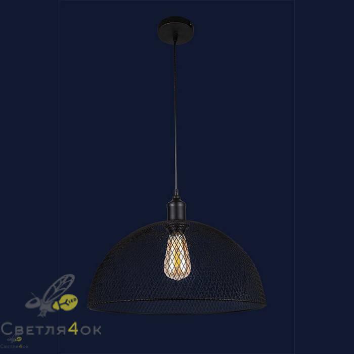 Светильник Лофт 907017F-1 BK