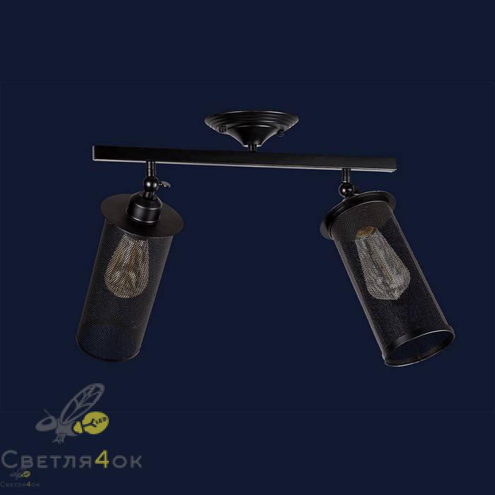 Светильник Лофт 907X012F-2 BK
