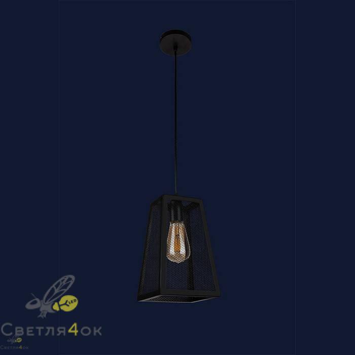 Светильник Лофт 907019F-1 BK