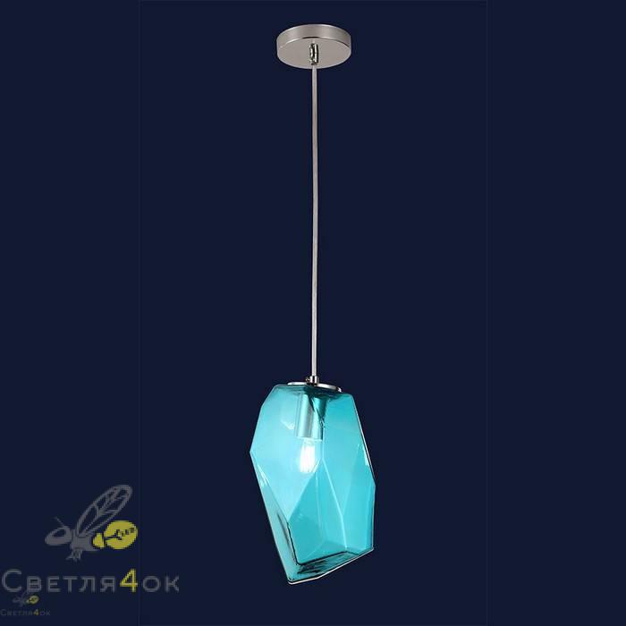 Светильник подвесной лофт 91603-1 BL