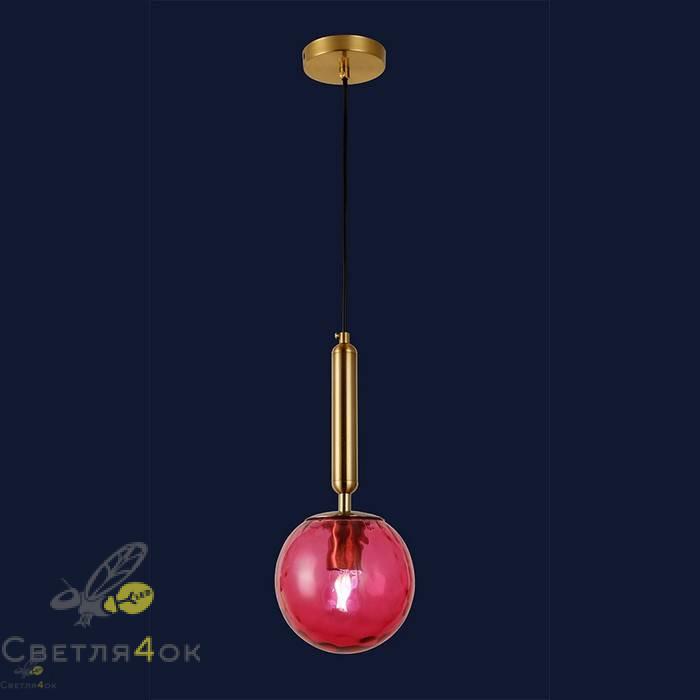Светильник подвесной лофт 91604-1 RD