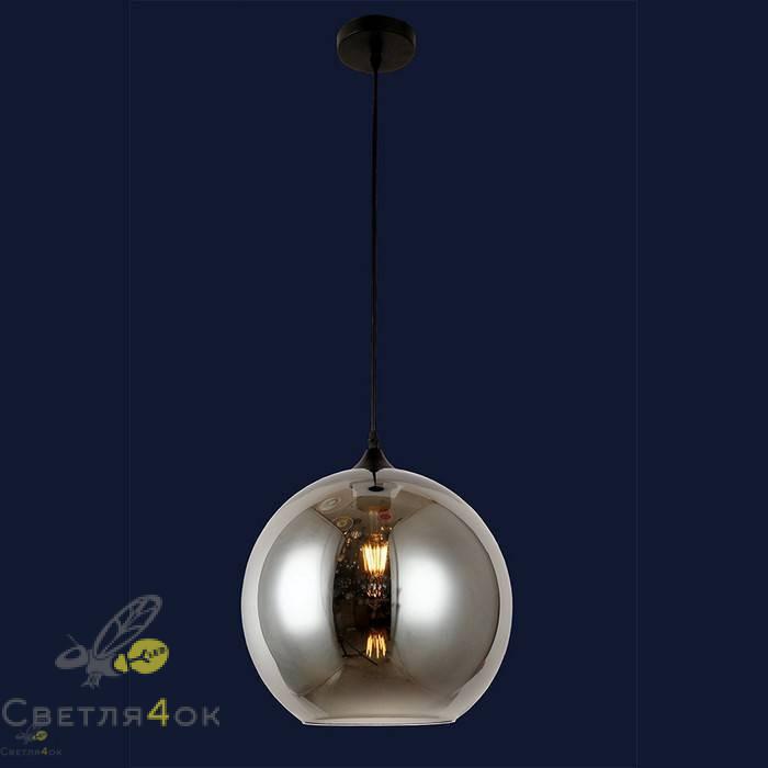 Светильник подвесной лофт 91608-1 BK