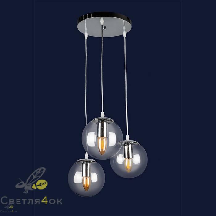 Светильник Лофт 756PR150F-3 CR+CL
