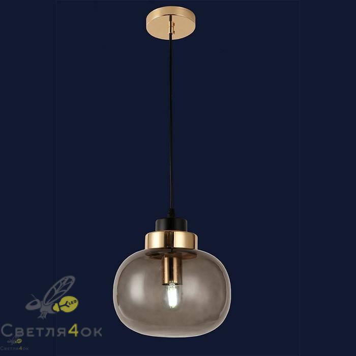 Светильник подвесной лофт 91619-1 BK