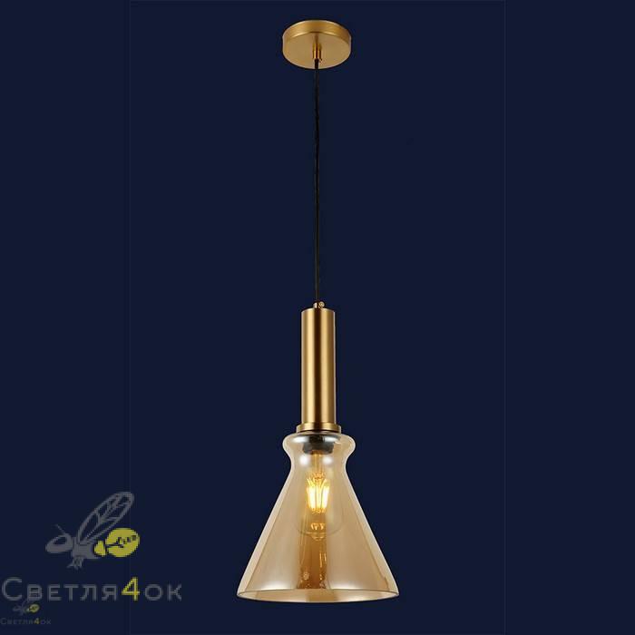 Светильник подвесной лофт 91623-1 BR
