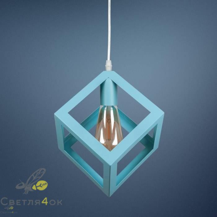 Светильник Лофт 756PR160-1 BLUE
