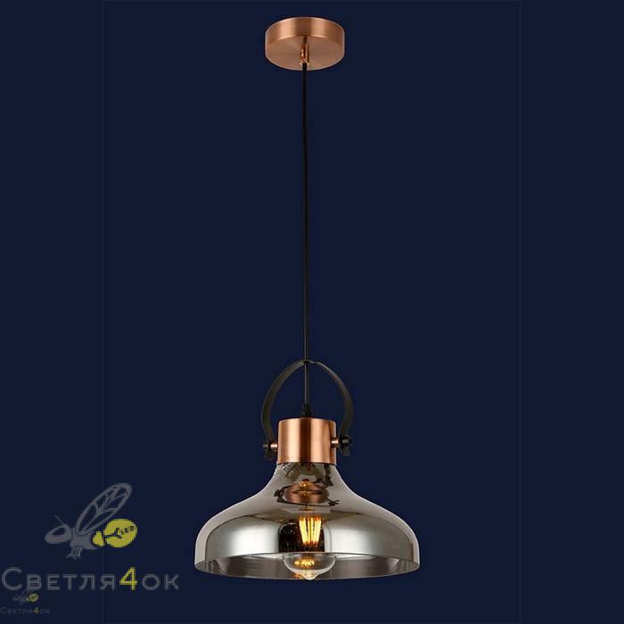 Светильник подвесной лофт 91632-1 BK
