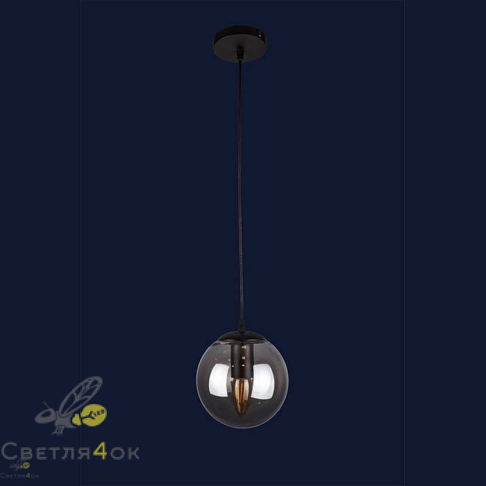 Светильник Лофт 756PR150F-1 BK+BK