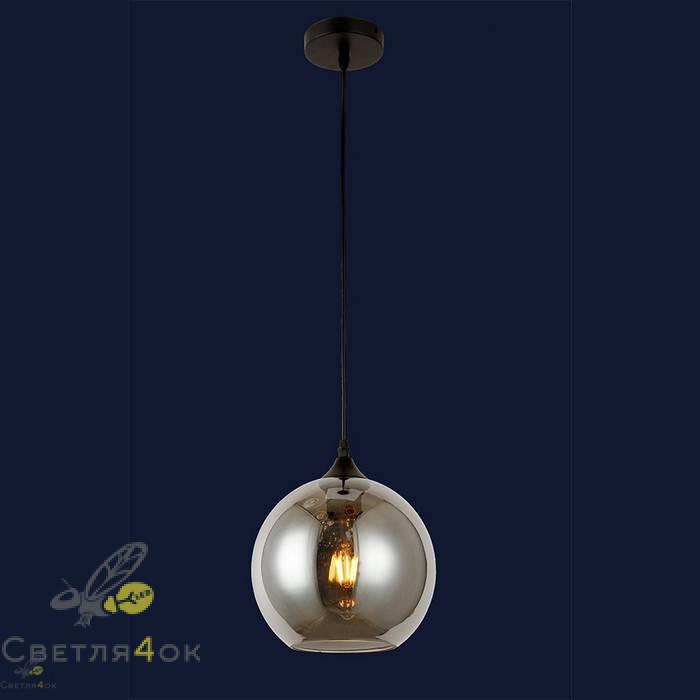 Светильник подвесной лофт 91606-1 BK