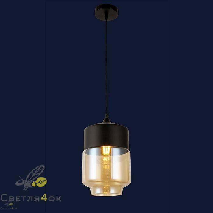 Светильник подвесной лофт 91614-1 BR
