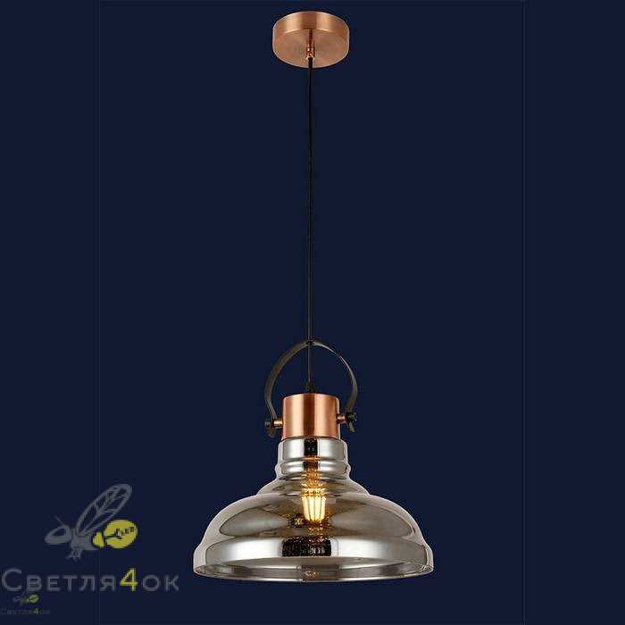 Светильник подвесной лофт 91633-1 BK