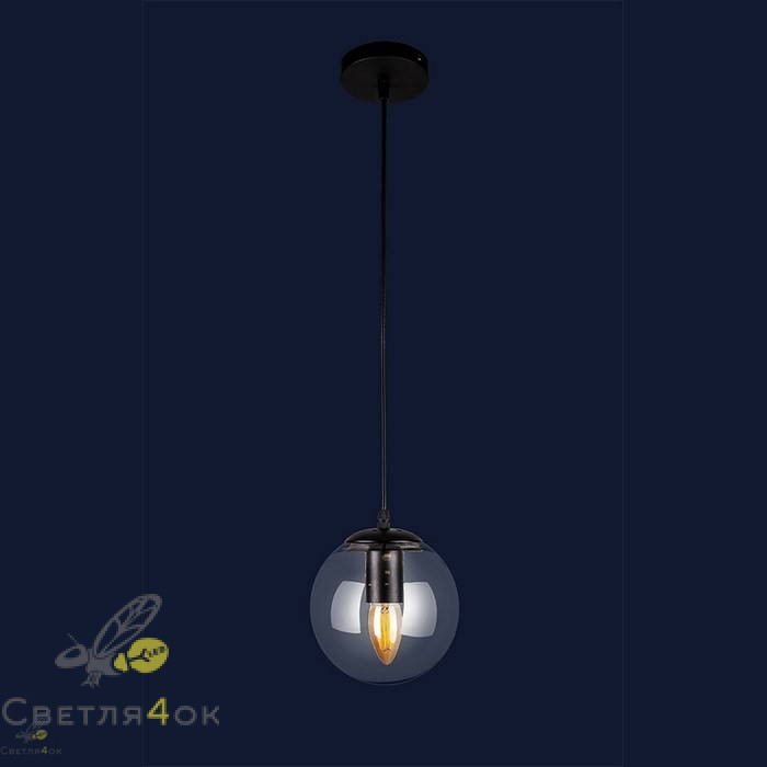 Светильник Лофт 756PR150F-1 BK+CL