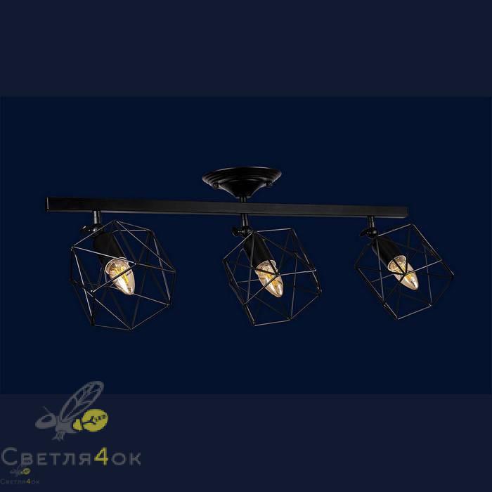 Светильник Лофт 756XPR101F-3 BK