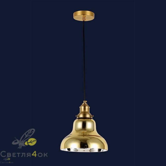 Светильник подвесной лофт 91602-1 GD