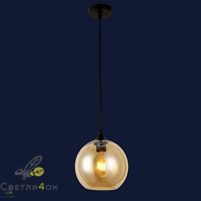 Светильник подвесной лофт 91606-1 BR