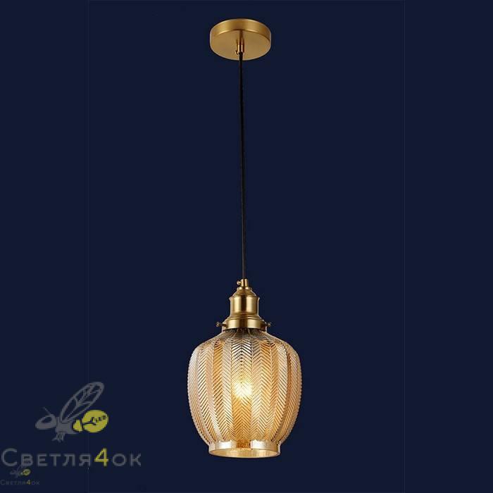 Светильник подвесной лофт 91620-1 BR