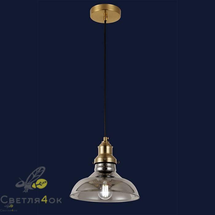 Светильник подвесной лофт 91601-1 BK