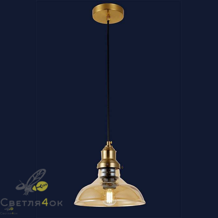 Светильник подвесной лофт 91601-1 BR