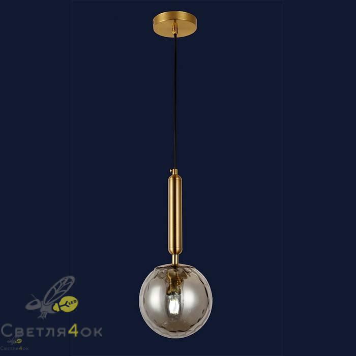 Светильник подвесной лофт 91604-1 BK