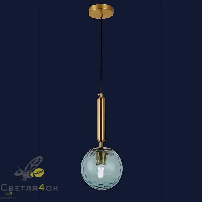 Светильник подвесной лофт 91604-1 BL