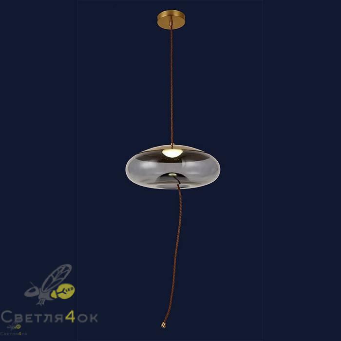 Светильник подвесной лофт 91627-1LED 4W BL