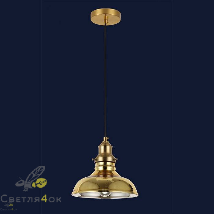 Светильник подвесной лофт 91601-1 GD
