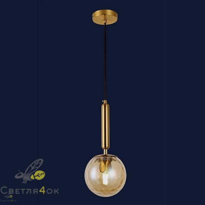 Светильник подвесной лофт 91604-1 BR