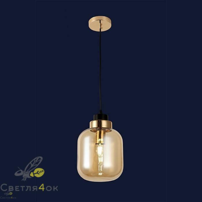 Светильник подвесной лофт 91618-1 BR
